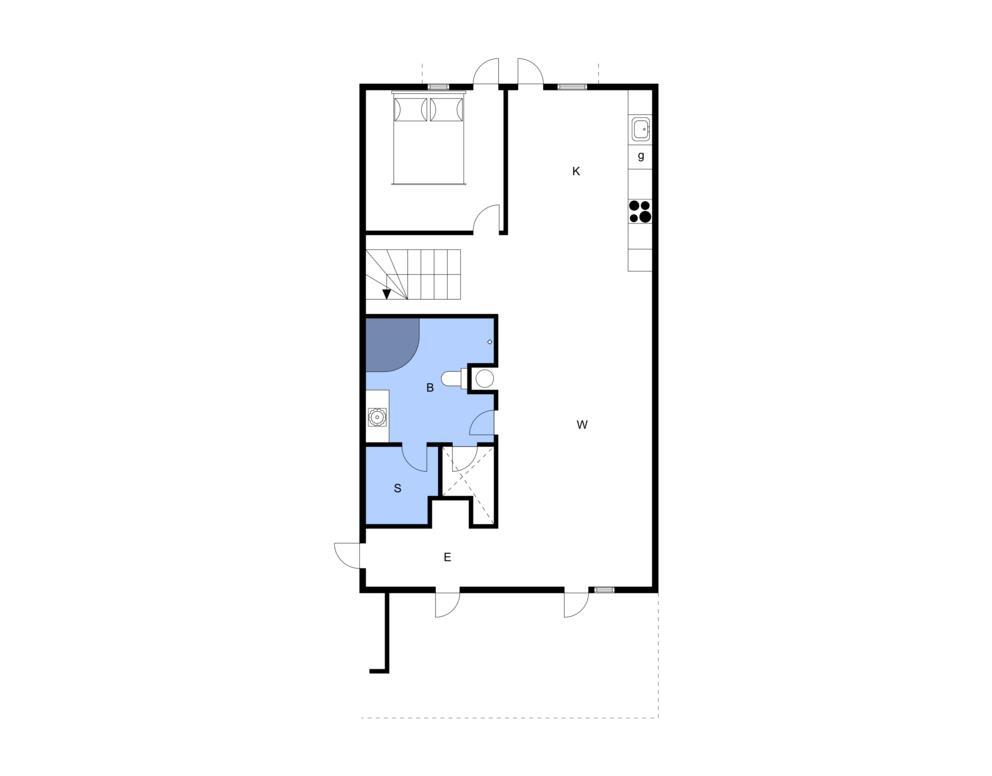 Innenausstattung 1-3 Ferienhaus F50402, Østersøvej 1, DK - 6300 Gråsten