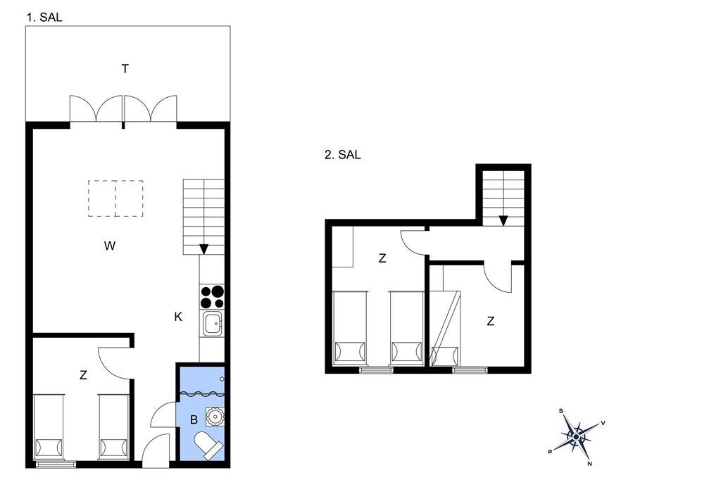 Innenausstattung 1-13 Ferienhaus 321, Havnevej 1, DK - 7770 Vestervig