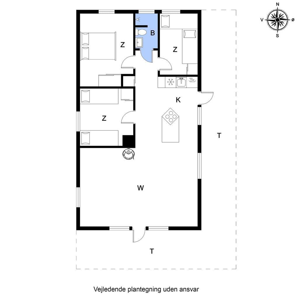 Indretning 1-20 Sommerhus G220, Skovstjernevej 20, DK - 7620 Lemvig