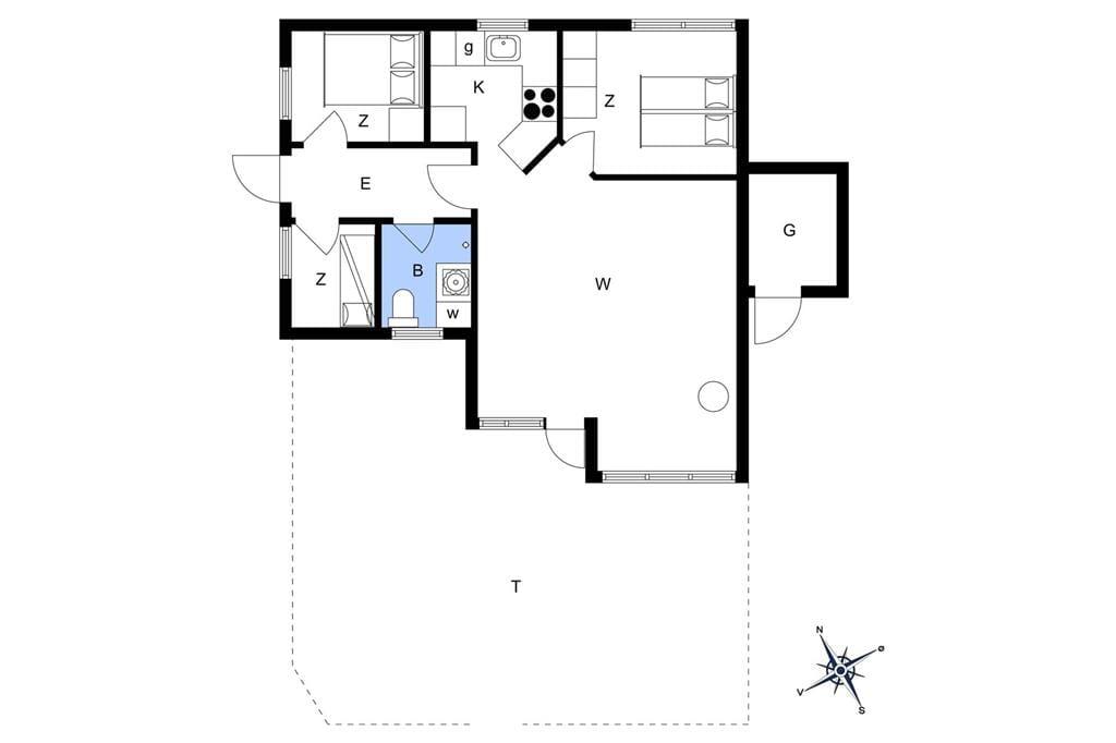 Interieur 1-13 Vakantiehuis 198, Klitrosevej 38, DK - 7700 Thisted