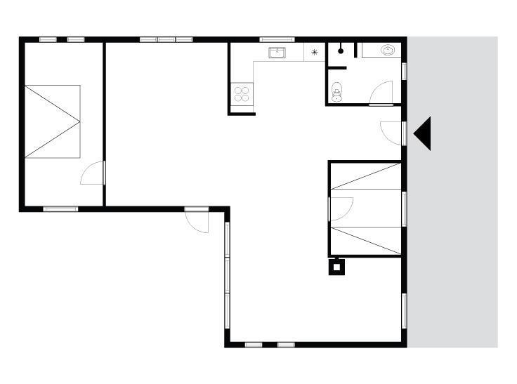 Interieur 1-175 Vakantiehuis 40407, Helmklit 362, DK - 6990 Ulfborg