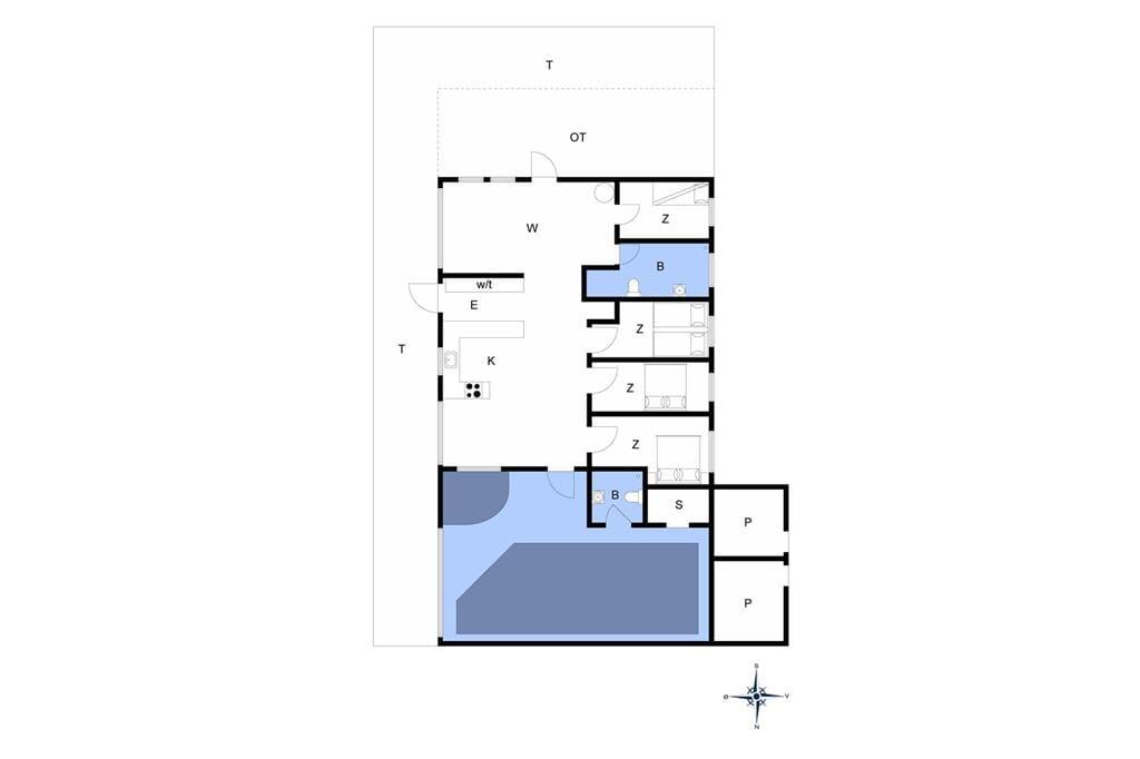 Indretning 1-401 Sommerhus HA187, Sdr. Havsig 46, DK - 9370 Hals