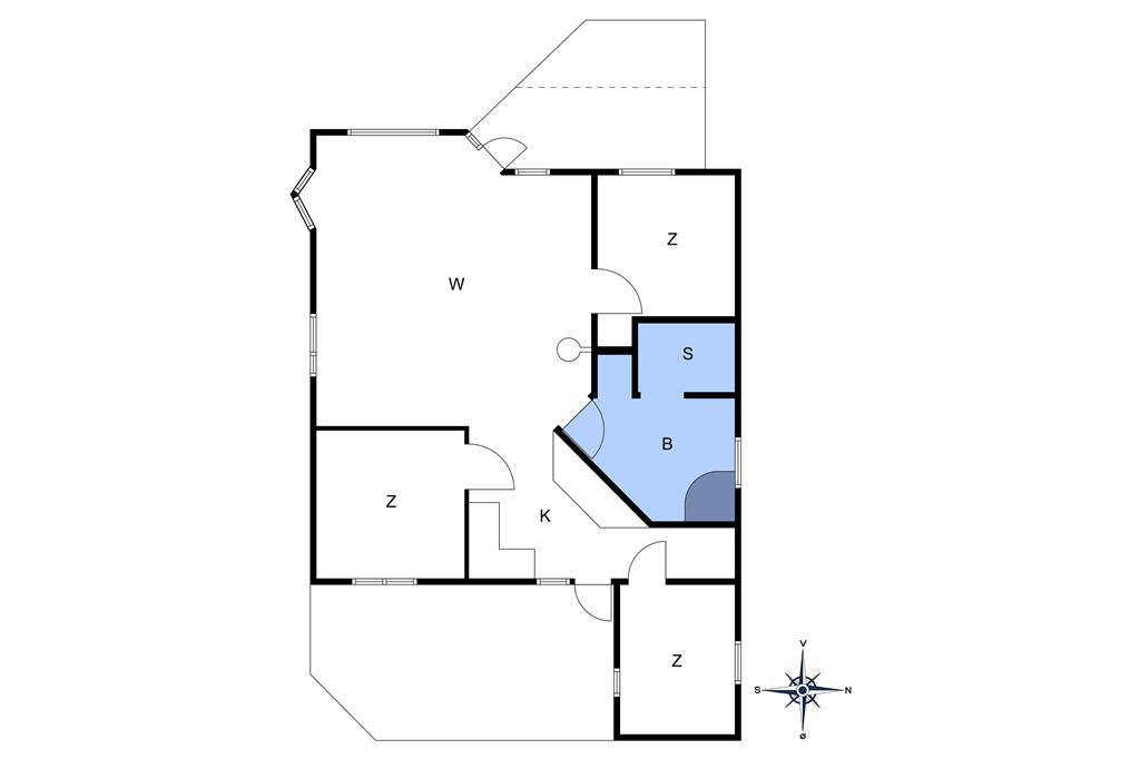 Innredning 1-10 Feirehus 1419, Boesparken 16, DK - 3720 Aakirkeby
