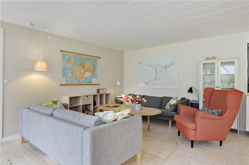 Foto Woonkamer Vakantiehuis nr. OH12279 in Sjællands Odde Denemarken