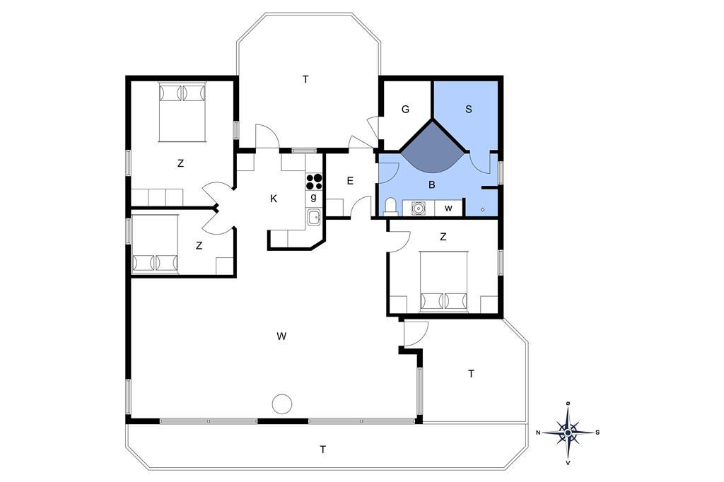 Interior 1-14 Holiday-home 503, Olgavej 46, DK - 9480 Løkken