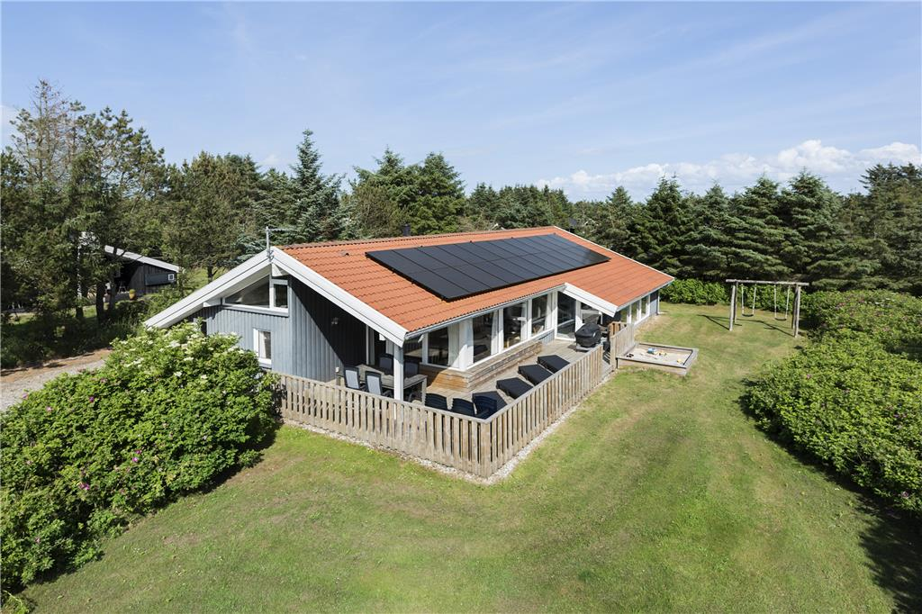 Kleiner Kühlschrank Mit Gefrierfach Real : Poolhaus ferienhaus 848 grønhøj lökken
