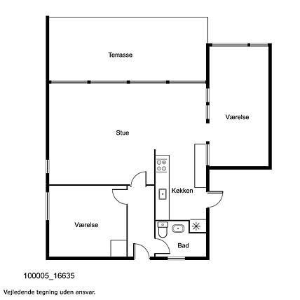 Innredning 1-17 Feirehus 16635, Bakkestien 24, DK - 4540 Fårevejle