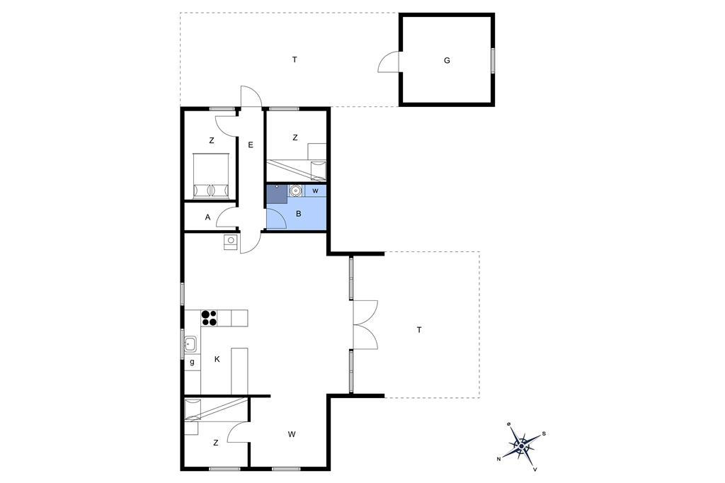 Interior 1-13 Holiday-home 974, Kobbelsti 71, DK - 7700 Thisted