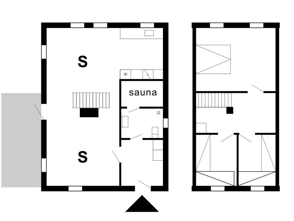 Indretning 1-175 Sommerhus 10117, Bækbyvej 54, DK - 6990 Ulfborg