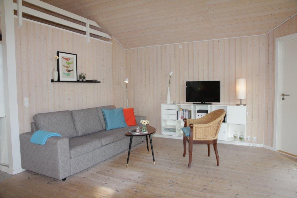 Foto Woonkamer Vakantiehuis nr. OD30540 in Odder, Dyngby Strand Denemarken