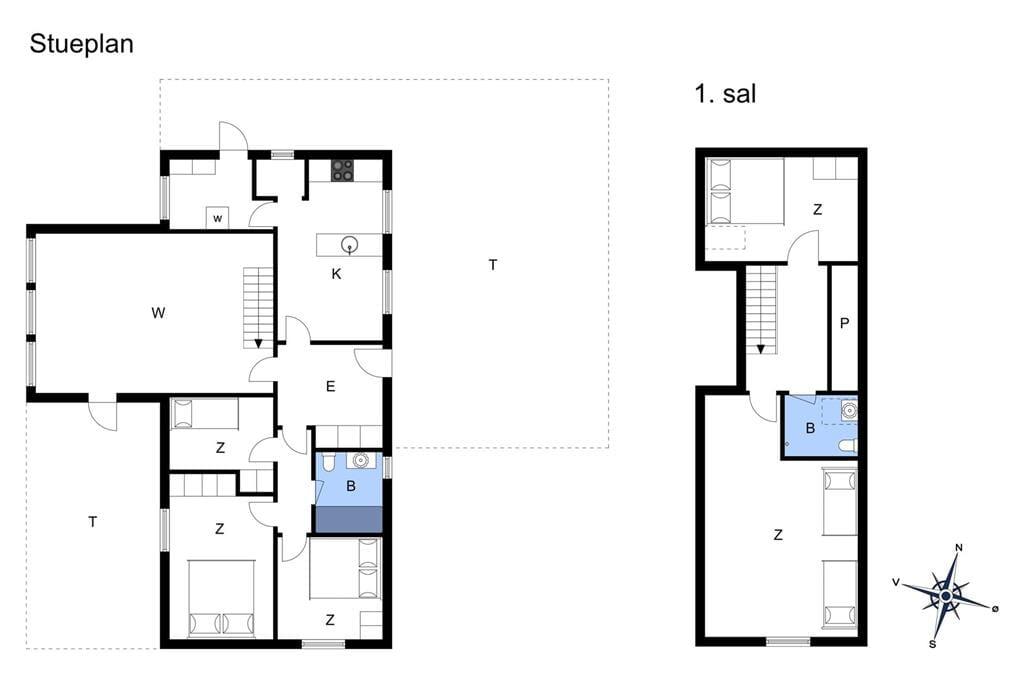 Interior 1-3 Holiday-home M70131, Hvidtfeldtsgade 32, DK - 5960 Marstal