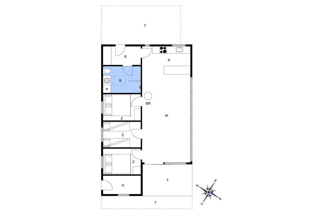 Indretning 1-17 Sommerhus 11836, Birkekrogen 10, DK - 4500 Nykøbing Sj