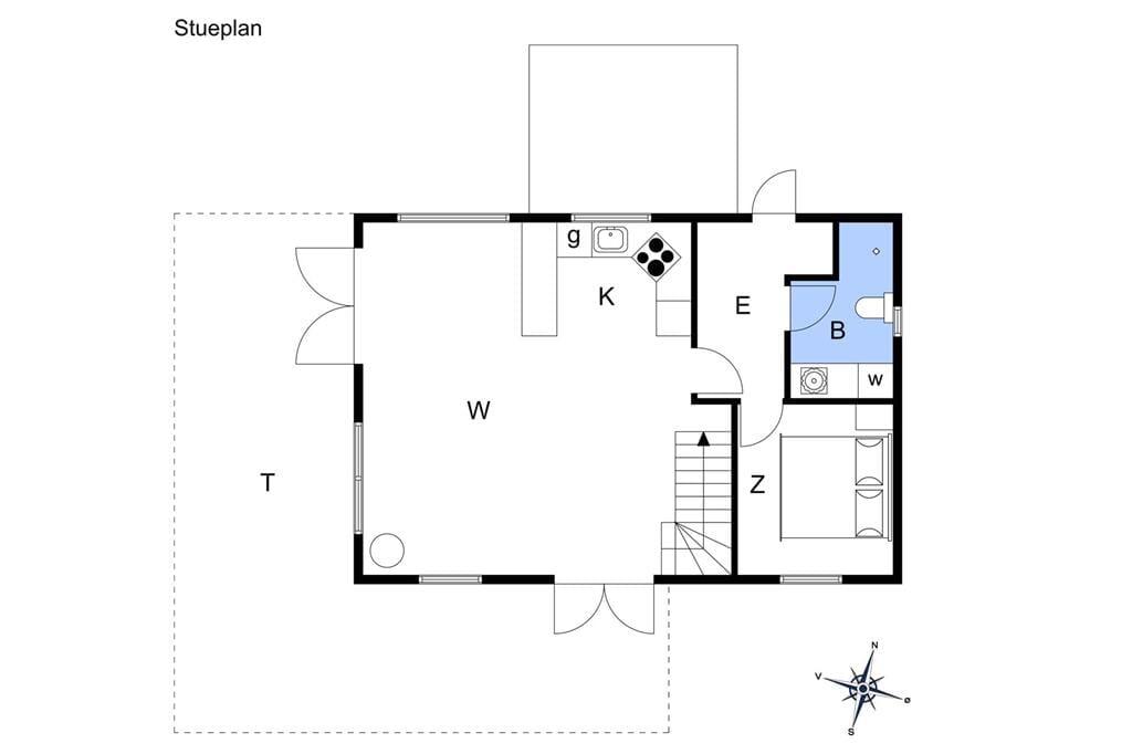 Interieur 1-17 Vakantiehuis 11151, Sandvads Vænge 14, DK - 4500 Nykøbing Sj