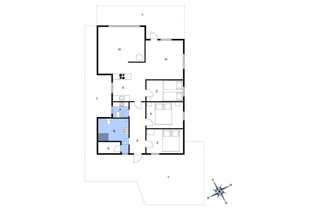 Interieur 1-20 Vakantiehuis 205, Doblervej 39, DK - 7673 Harboøre