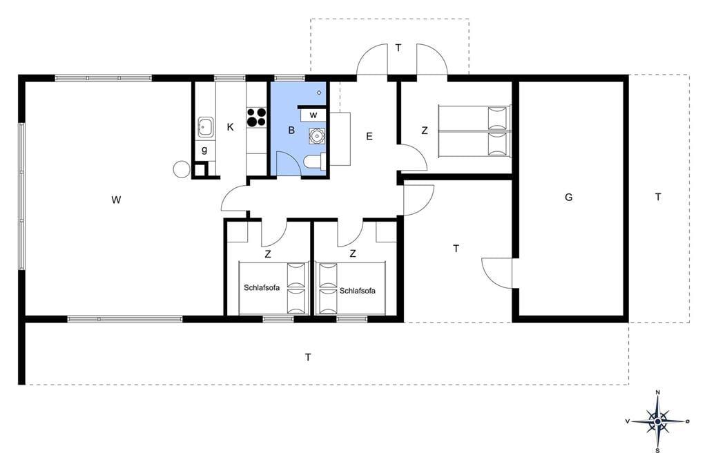 Interieur 1-176 Vakantiehuis BL101, Spovevej 1, DK - 9490 Pandrup