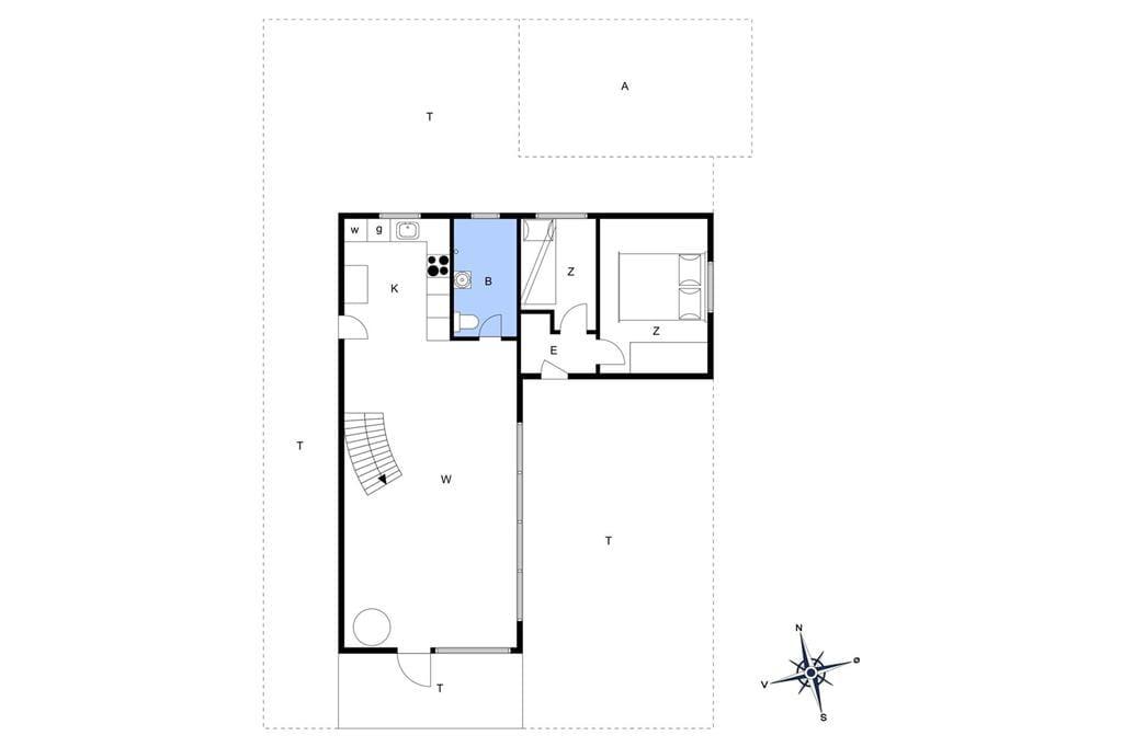 Innenausstattung 1-19 Ferienhaus 30107, Næsvej 82, DK - 8300 Odder