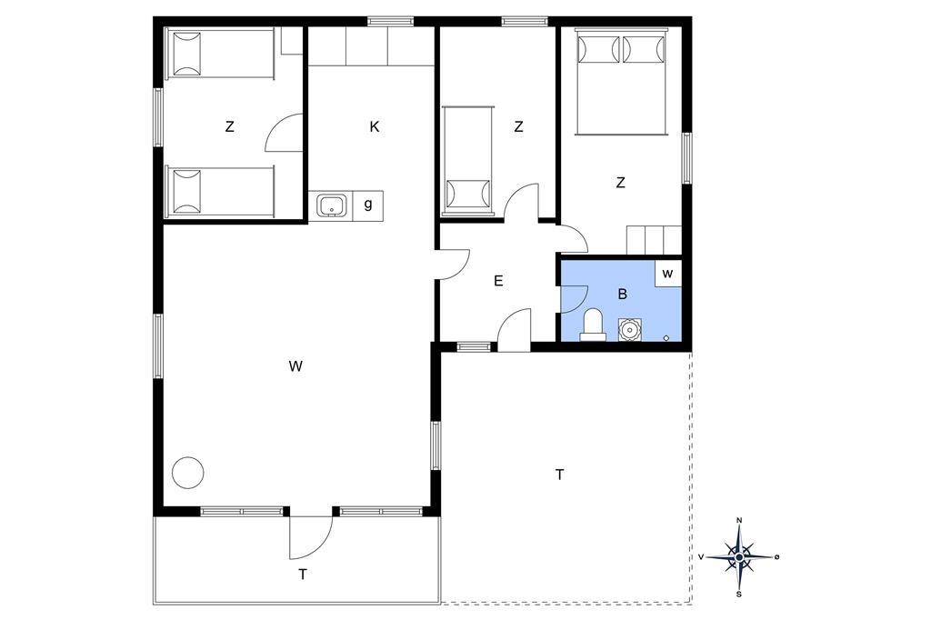 Indretning 1-13 Sommerhus 559, Limfjordsvangen 1, DK - 7752 Snedsted