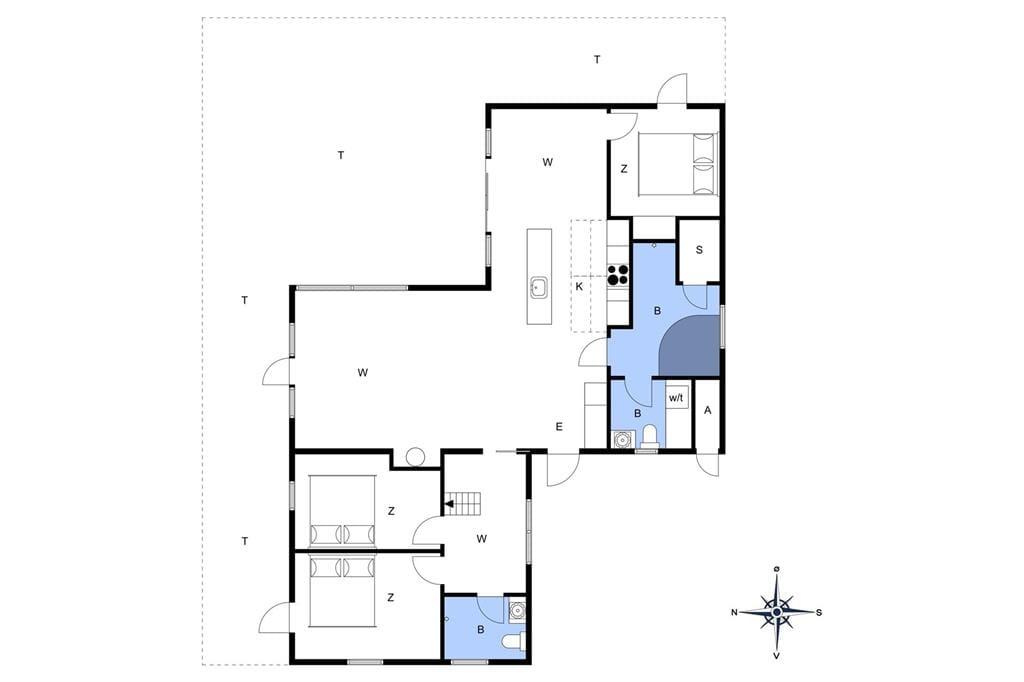 Innenausstattung 1-11 Ferienhaus 0398, Lyngvejen 51, DK - 6792 Rømø
