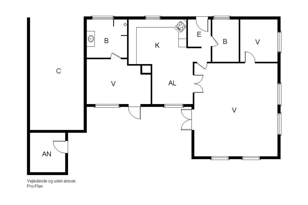 Innenausstattung 1-19 Ferienhaus 30005, Vibevænget 1, DK - 8330 Beder