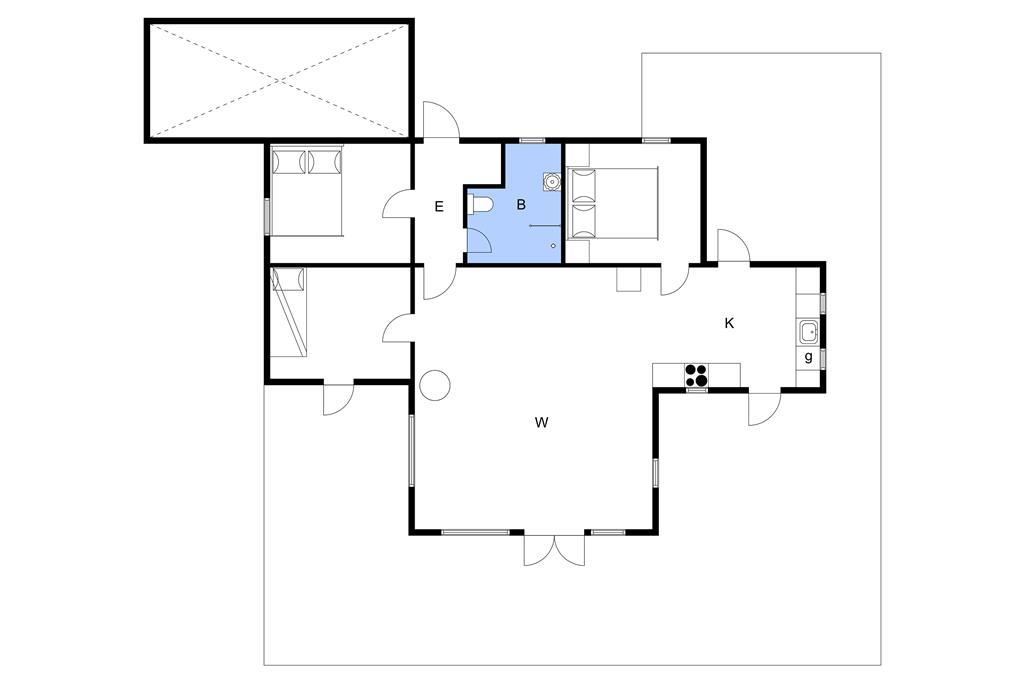 Indretning 1-3 Sommerhus M66469, Hundegræsset 6, DK - 5390 Martofte