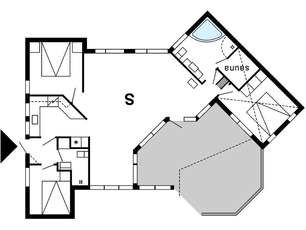 Interieur 1-175 Vakantiehuis 50882, Klitvej 42, DK - 6990 Ulfborg
