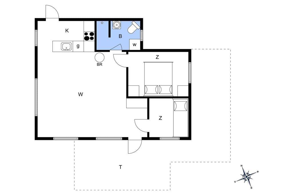 Innenausstattung 1-11 Ferienhaus 0102, Lakolk 137, DK - 6792 Rømø