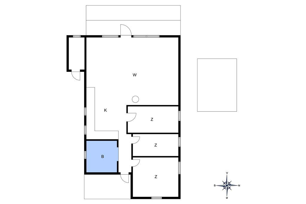 Interieur 1-10 Vakantiehuis 2616, Fjælstaunijn 7, DK - 3730 Nexø
