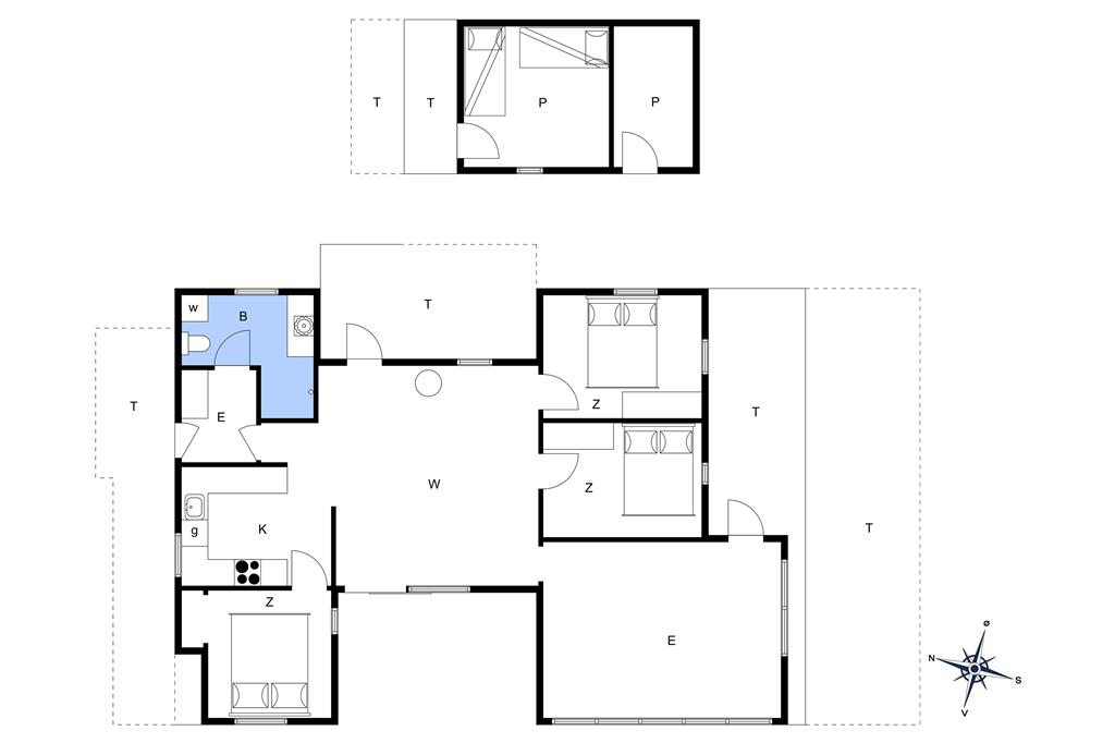Innenausstattung 1-14 Ferienhaus 1398, Aprilvej 5, DK - 9800 Hjørring