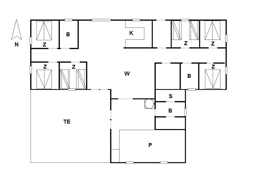 Indretning 1-175 Sommerhus 51400, Sdr. Fjandvej 36, DK - 6990 Ulfborg