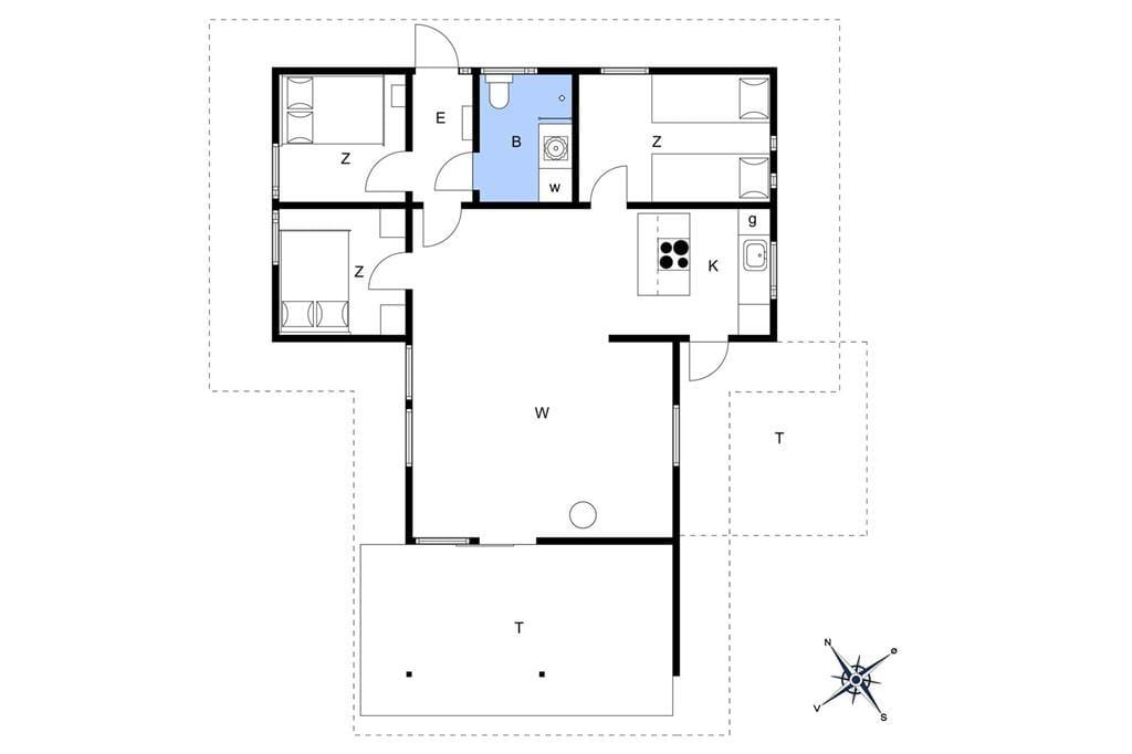 Interior 1-17 Holiday-home 16617, Knarbovej 14, DK - 4540 Fårevejle