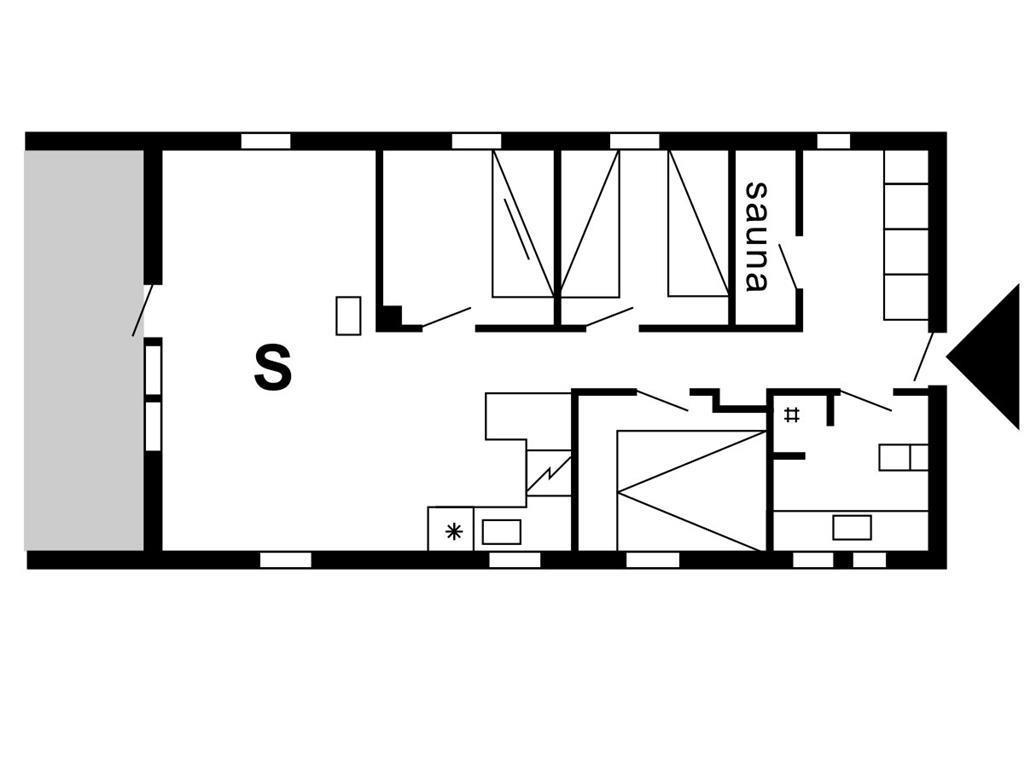 Innredning 1-175 Feirehus 40329, Hagevej 69, DK - 6990 Ulfborg