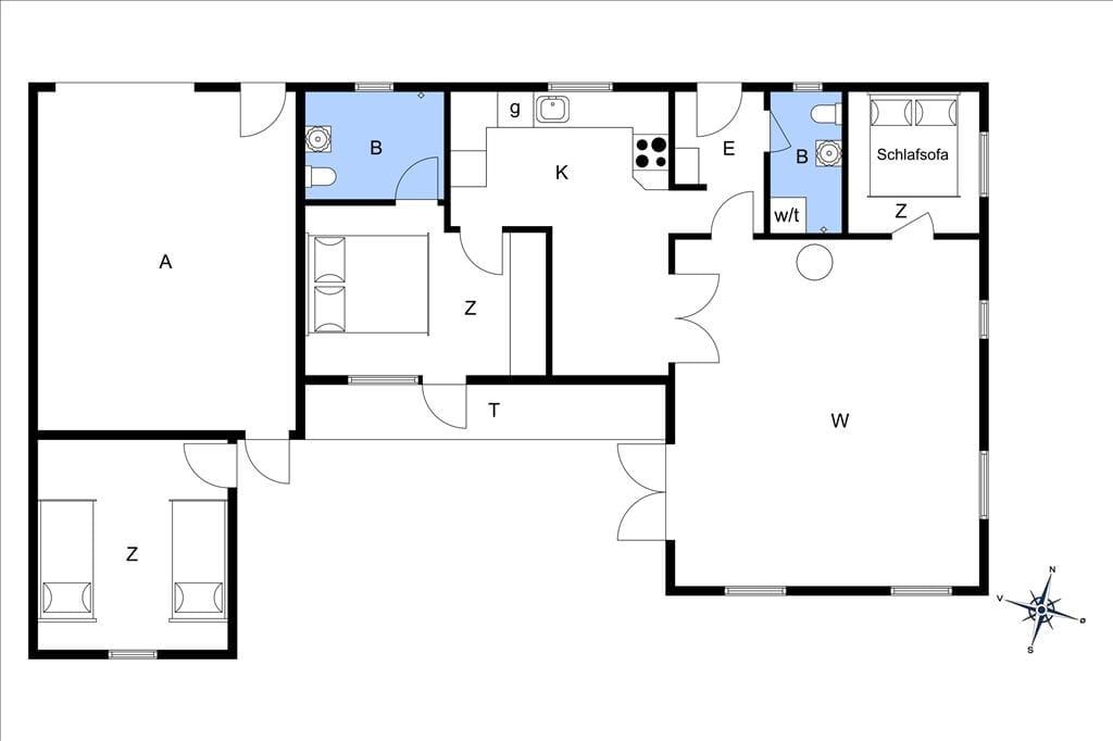 Innenausstattung 20-19 Ferienhaus 30005, Vibevænget 1, DK - 8330 Beder