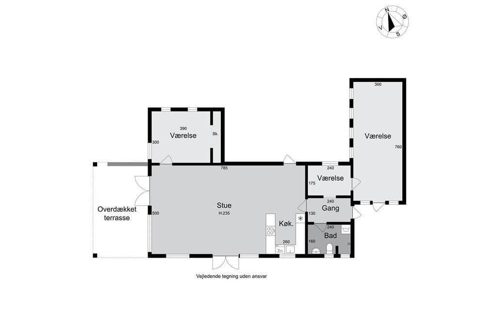 Innenausstattung 1-174 Ferienhaus M14016, Baldrianvej 4, DK - 4873 Væggerløse