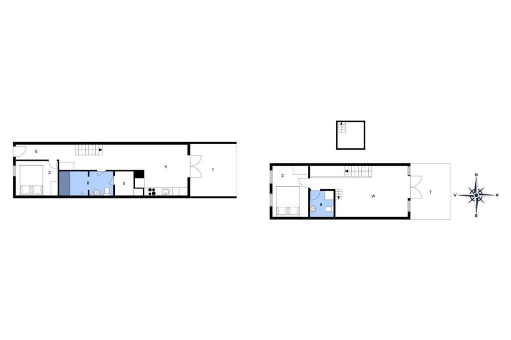 Indretning 1-17 Sommerhus 10117, Bystedvej 10, hus 29 0, DK - 4500 Nykøbing Sj