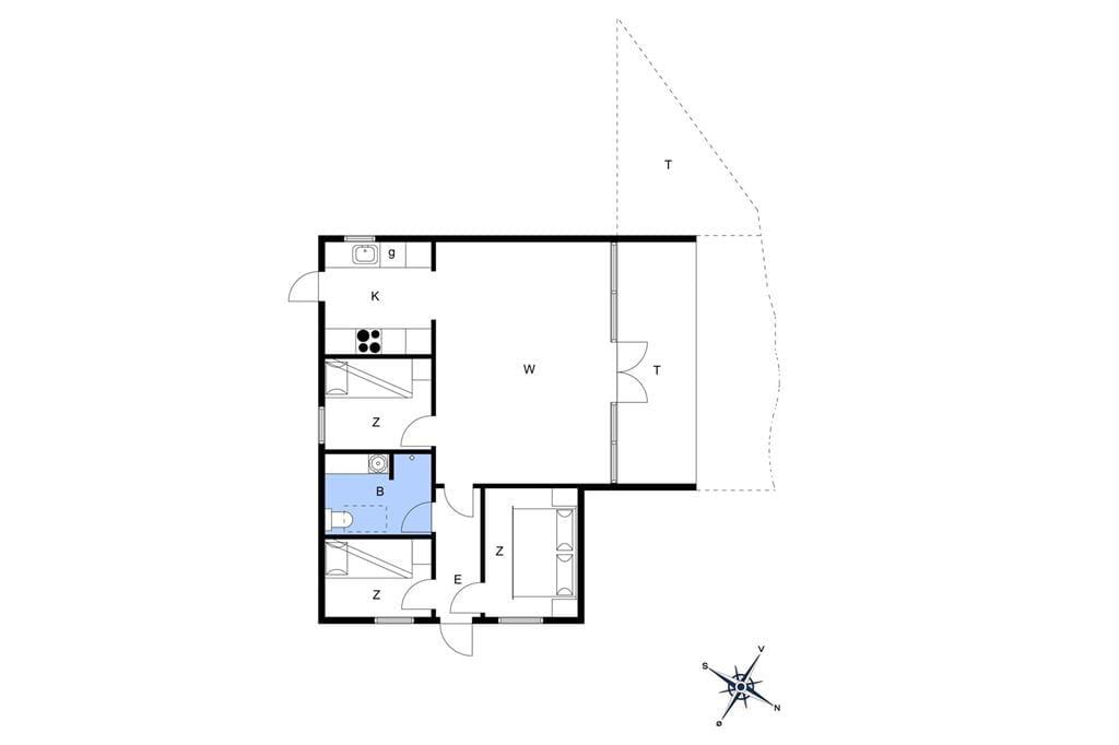 Innenausstattung 1-17 Ferienhaus 17701, Middelvej 2, DK - 4591 Føllenslev