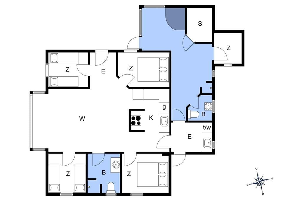 Interieur 1-23 Vakantiehuis 8473, Åvej 8, DK - 8400 Ebeltoft