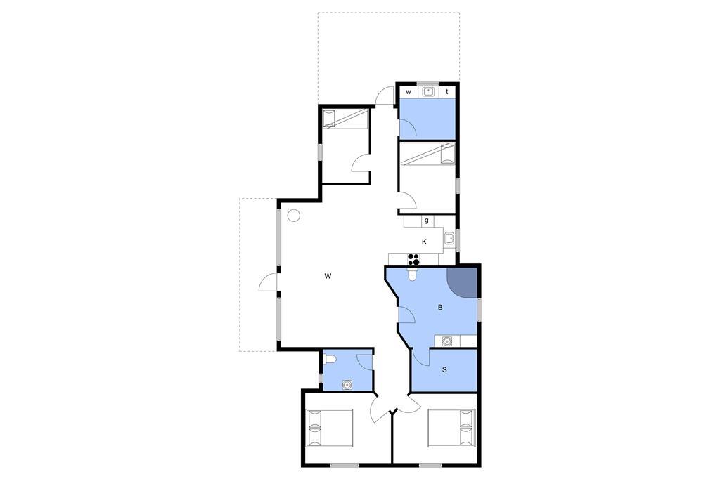 Interior 1-3 Holiday-home F503517, Humlevænget 6, DK - 6094 Hejls