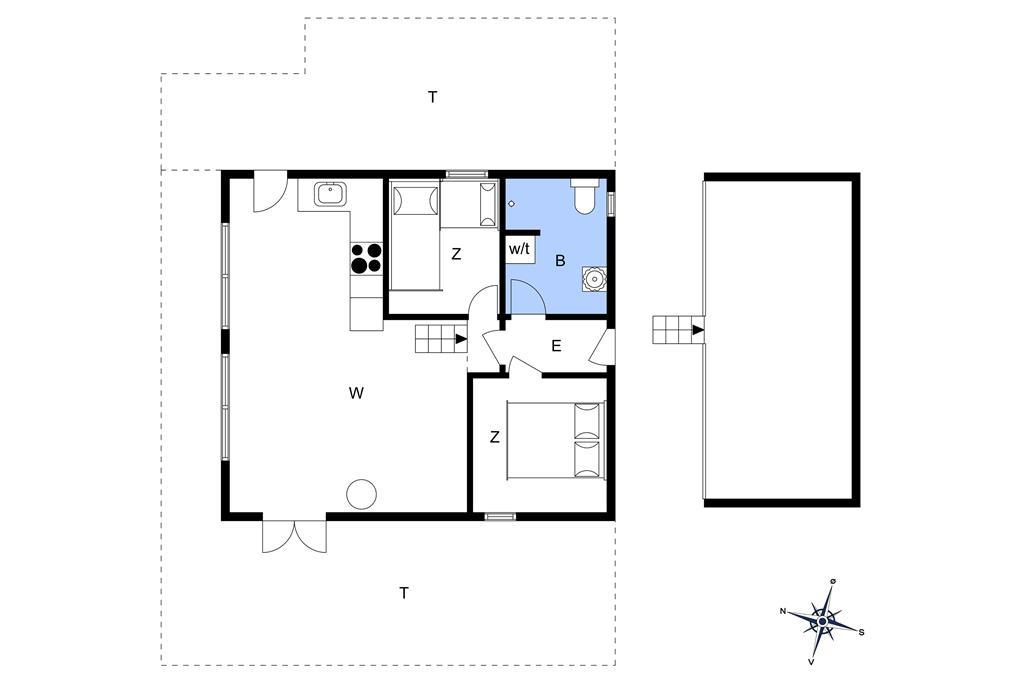 Interior 1-14 Holiday-home 75813, Kystrenden 12, DK - 9800 Hjørring