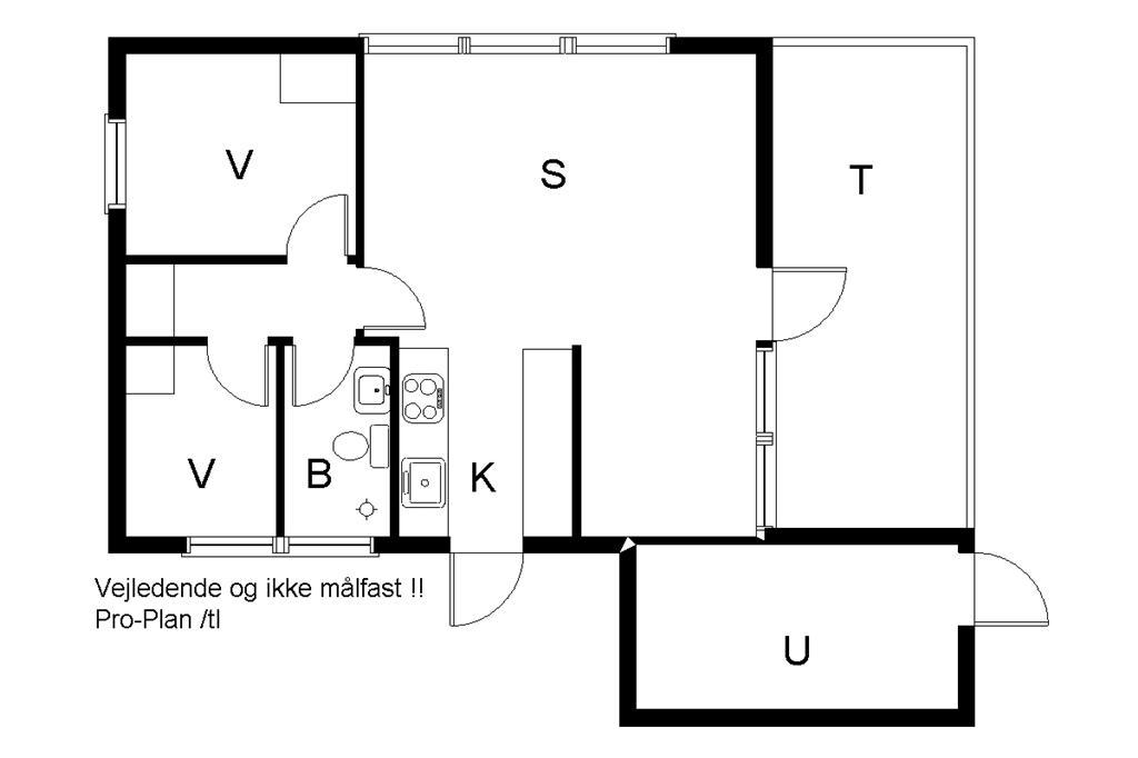 Innenausstattung 1-19 Ferienhaus 30074, Rønnevænget 11, DK - 8340 Malling