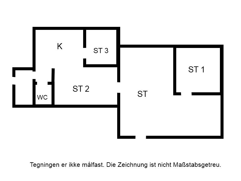 Indretning 1-15 Sommerhus 3018, Rambukken 9, DK - 4780 Stege