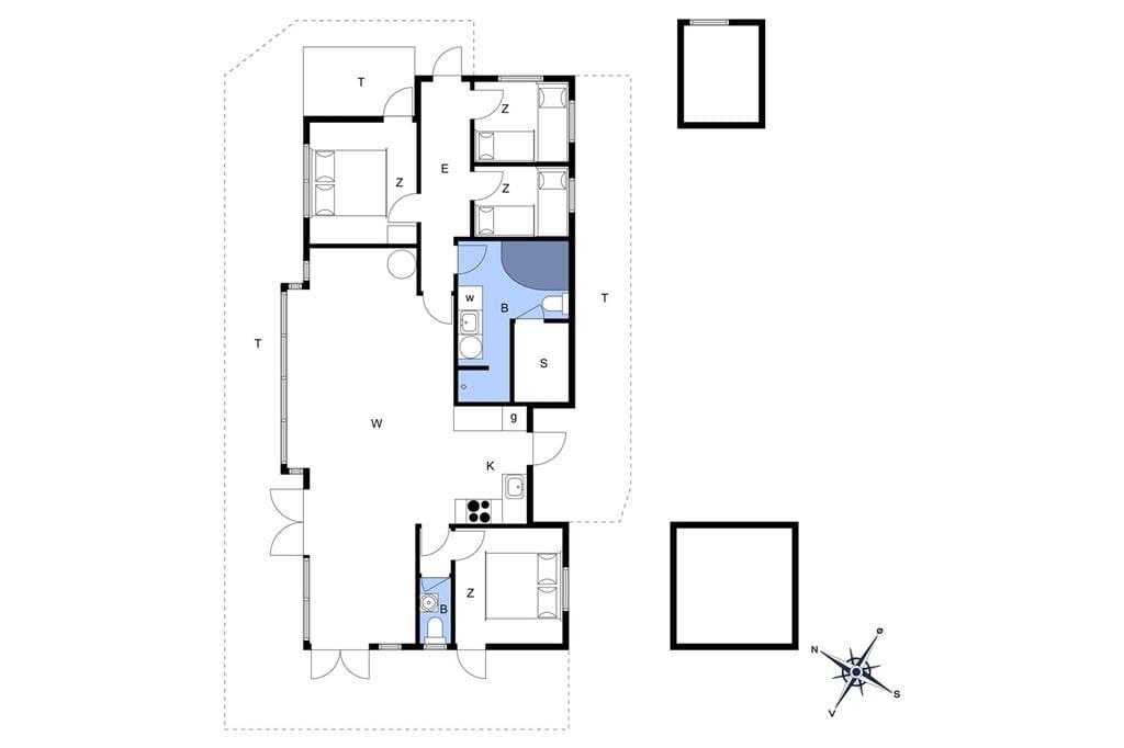 Innenausstattung 1-17 Ferienhaus 15502, Lyngbakken 12, DK - 4540 Fårevejle