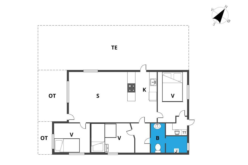 Innenausstattung 1-19 Ferienhaus 30316, Sdr. Skovvej 16, DK - 8300 Odder