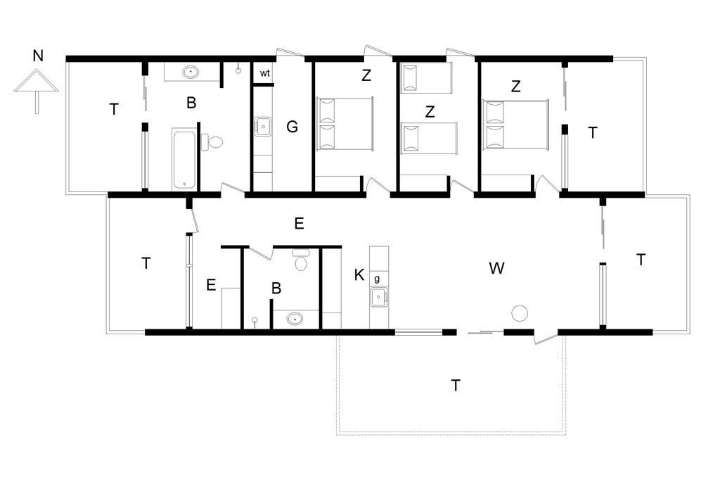 Interieur 1-14 Vakantiehuis 400, Sdr. Strandvej 9, DK - 9492 Blokhus