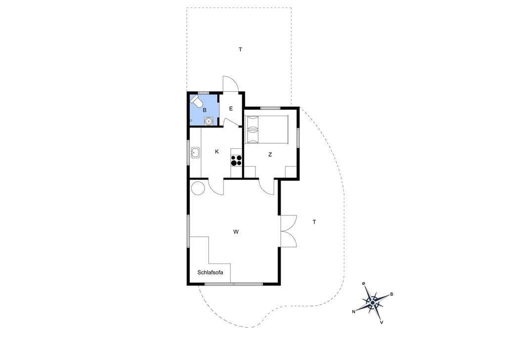 Indretning 1-15 Sommerhus 8210, Fyrrevænget 23, DK - 4760 Vordingborg