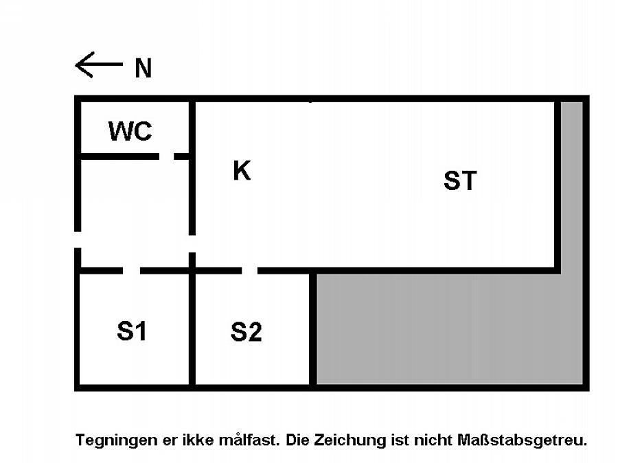 Innredning 1-15 Feirehus 3000, Stejlepladsen 13, DK - 4780 Stege
