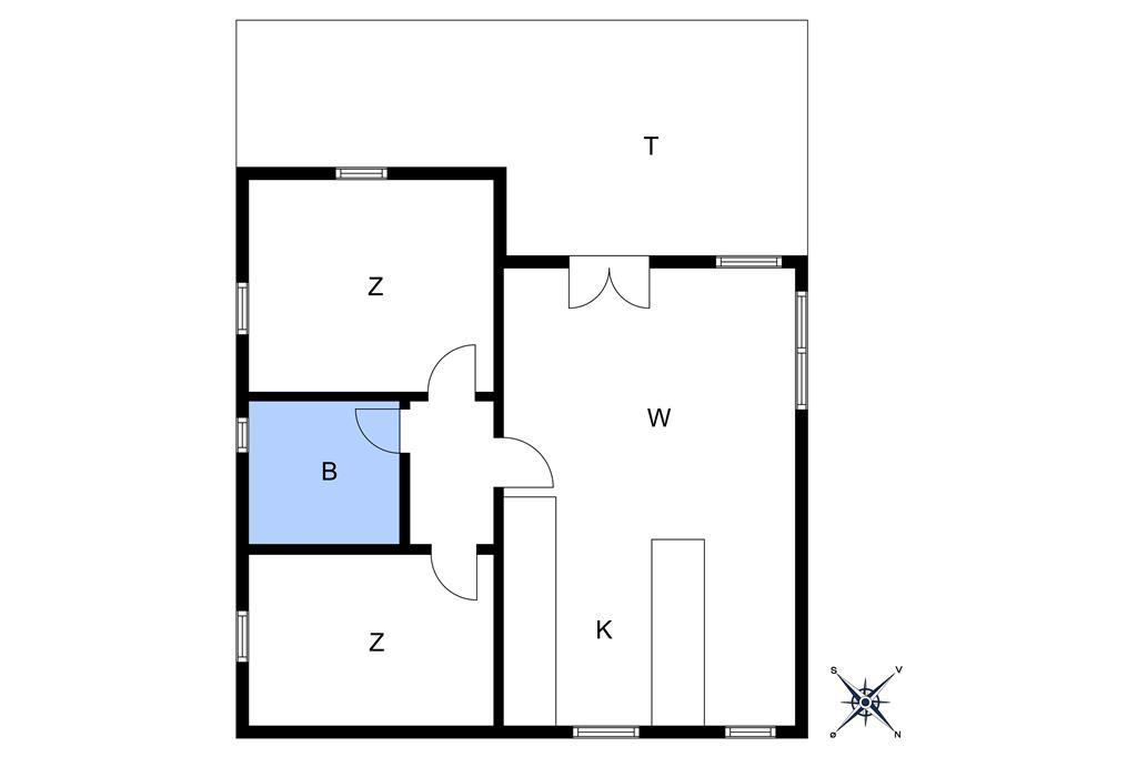 Indretning 1-10 Sommerhus 9005, Klympen 31, DK - 3790 Hasle
