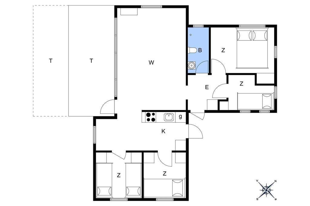 Interior 3-17 Holiday-home 13350, Ekkodalen 3, DK - 4573 Højby