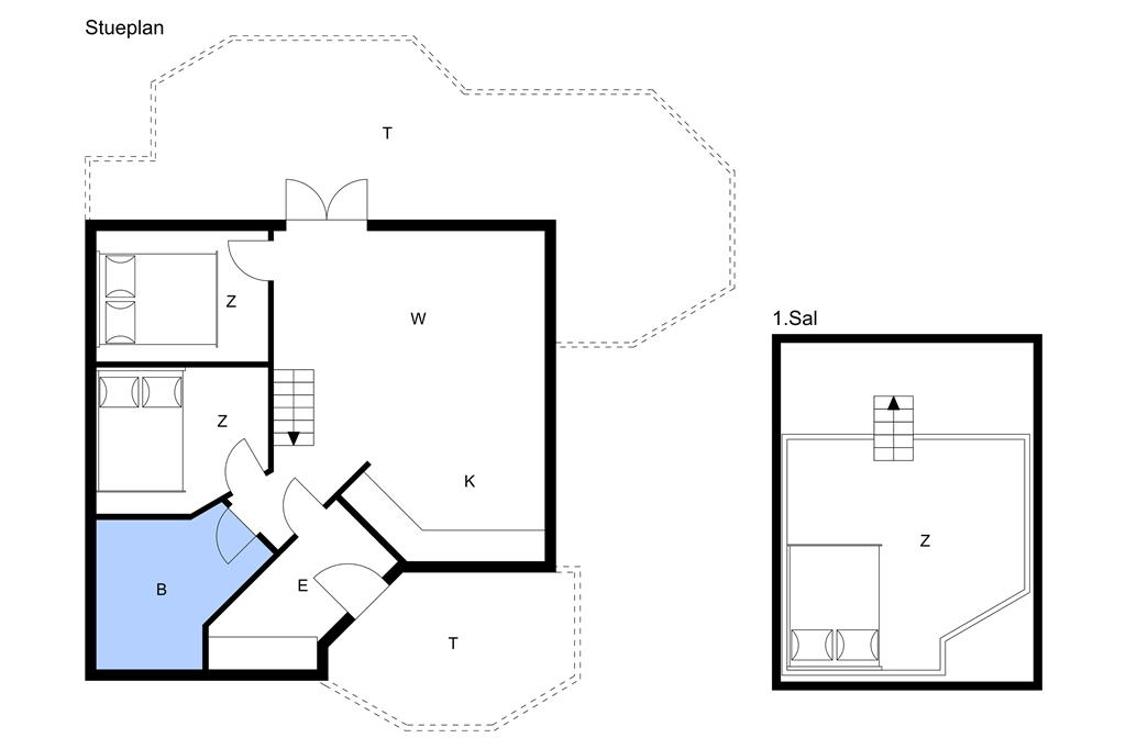 Innenausstattung 1-22 Ferienhaus C11129, Bork Hytteby 233, DK - 6893 Hemmet