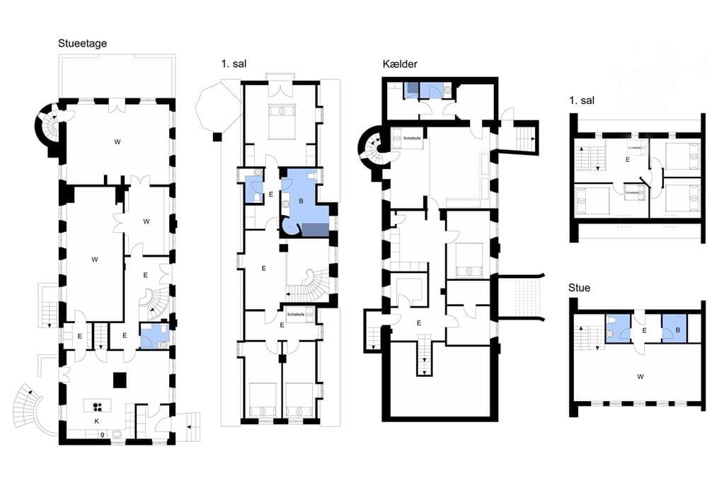 Indretning 1-3 Sommerhus M661001, Edelsmindevej 8, DK - 5700 Svendborg