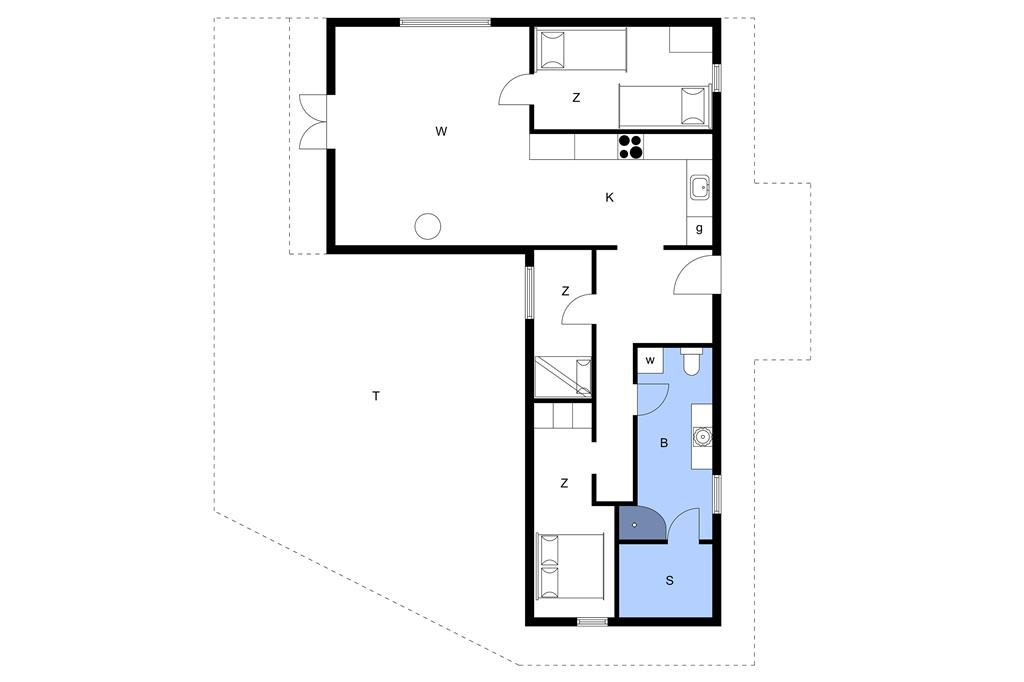 Interior 1-11 Holiday-home 0169, Mylius Erichsensvej 2, DK - 6792 Rømø